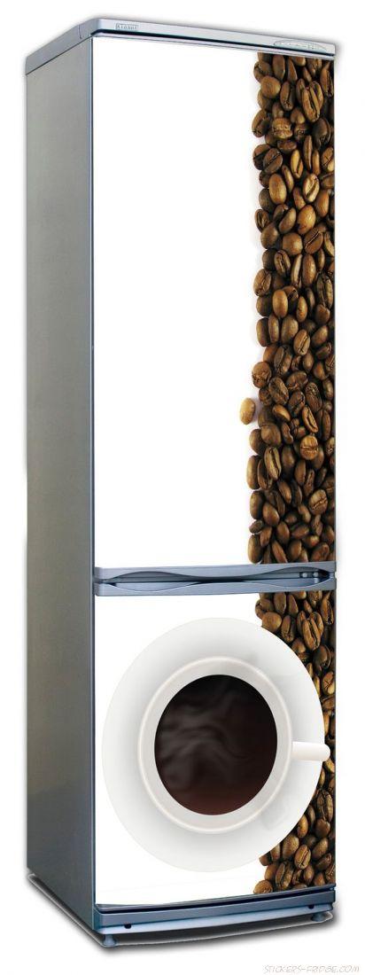 наклейка на холодильник - Кофе 3. Дзен.