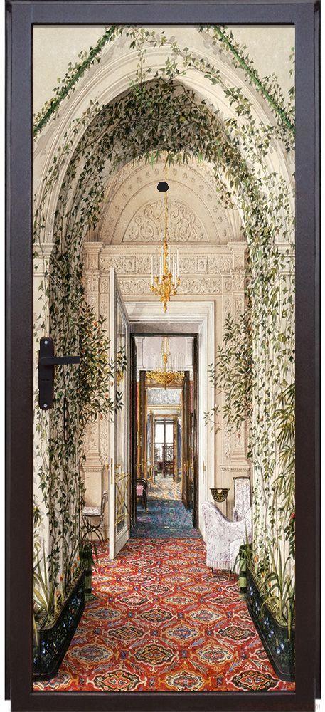 Наклейка на дверь - Шедевры Эрмитажа 3