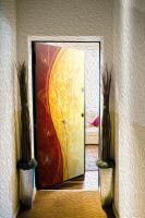 Виниловый стикер на дверь - Роскошь 4