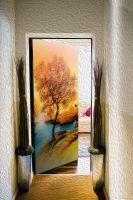 Виниловая наклейка на дверь - Пейзаж 2