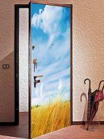 Виниловая наклейка на дверь - Житница