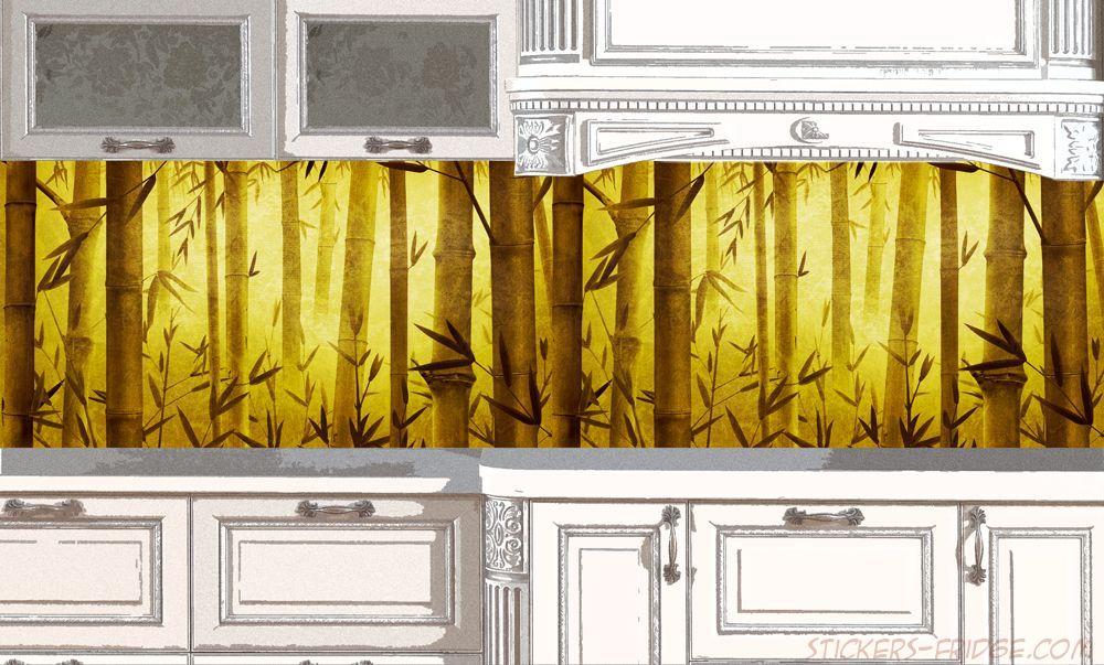 Фартук для кухни - Бамбук