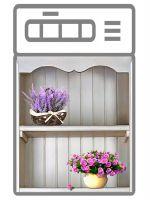 Наклейка на посудомоечную машину —  Прованс 3d, купить   Интерьерные наклейки
