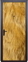 Наклейка на дверь -  Шерсть льва