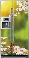 Наклейка на холодильник - Весна.