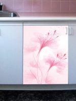 Наклейка на посудомоечную машину -  Нежные цветы
