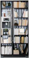 Виниловая наклейка на холодильник -  Книжный шкаф