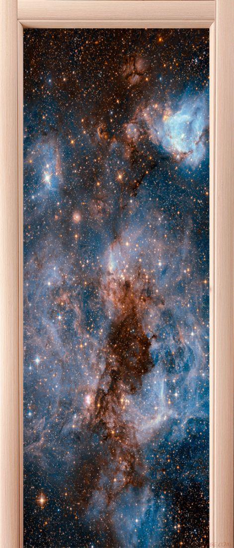 Фотообои на дверь - Глубокий космос