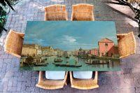 Наклейка на стол - Большой Канал   Купить фотопечать на стол в магазине Интерьерные наклейки